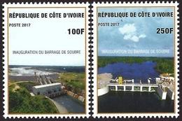 Côte D'Ivoire Ivory Coast 2017 Soubré Hydrodam Electricity Mint Set - Elektriciteit