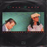 COCK ROBIN - UK SINGLE - JUST AROUND THE CORNER + OPEN BOOK - Rock