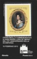 TESSERA FILATELICA VALORE 3,6 EURO ANNA MARIA LUISA DE MEDICI (FY981 - Filatelistische Kaarten