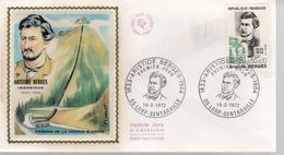 FDC - Enveloppe 1er Jour - ARISTIDE BERGES - 19.2.1972 - LORP SENTARAILLE - 1970-1979