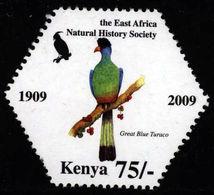 Kenya Kenia 2010 **MNH Great Blue Turaco Riesenturako Touraco Géant - Ohne Zuordnung