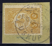 Ottoman Stamps With European CanceL  USKUB 4 SKOPJE NORTH MACEDONIA Signiert /signed/ Signé - Gebruikt