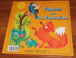 Livre POP UP - LES FABLES DE LA FONTAINE - 1994 - Edition PML - Illustrations à Relief , Système Articulé / 15 - Franse Schrijvers