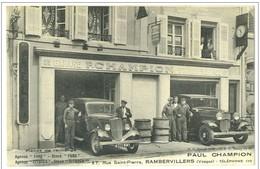 88 RAMBERVILLERS GARAGE AUTOMOBILE - Rambervillers
