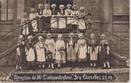 57 - SCY CHAZELLES - CARTE PHOTO - RECEPTION DE MR L'ADMINISTRATEUR LE 05.03.1919 - Other Municipalities