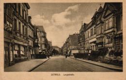 Detmold, Langestrasse, Geschäfte, Ca. 30er Jahre - Detmold