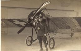 Aviation - Aviateur Marius Reynold Devant Son Morane-Saulnier - Dübendorf - Aviation