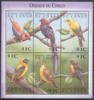 2000Congo (Kinshasa)1473-78KLBirds18,00 € - Specht- & Bartvögel