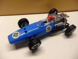Scalextric Exin Honda F1  Primera Serie Bleu Ref. C 36 Fabriqué En Espagne - Circuitos Automóviles