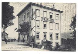 SENTIER, La Vallée, HOTEL DE TEMPERANCE, Animée, Personnages, Bicyclette, Circulée Le Sentier 1913 - VD Vaud