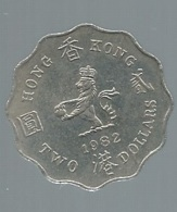 2 DOLLAR 1982 HONGKONG    Pieb22515 - Hongkong