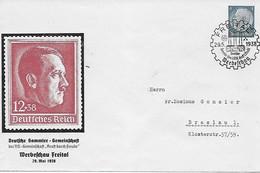 Deutsches Reich 1938 - Werbeschau Freital - Private Ganzsache / Postal Stationery - Sonderstempel - Storia Postale