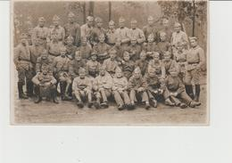 CARTE-PHOTO CAMBRAI (59) MILITAIRES DU 1er REGIMENT D' INFANTERIE  - GUERRE 1914 - 1918 - Cambrai