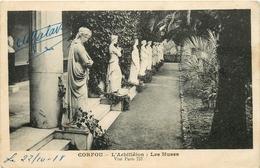 CORFOU L'ACHILLEION LES MUSES - Grèce