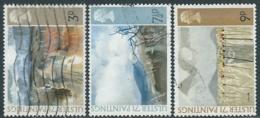 1971 GRAN BRETAGNA USATO QUADRI DI PITTORI NORD IRLANDESI - RC5-10 - 1952-.... (Elisabetta II)