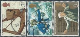 1972 GRAN BRETAGNA USATO ANNIVERSARI DIVERSI - RC5-8 - 1952-.... (Elisabetta II)