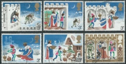 1973 GRAN BRETAGNA USATO NATALE - RC5-5 - 1952-.... (Elisabetta II)