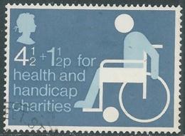 1975 GRAN BRETAGNA USATO BENEFICENZA - RC5-5 - 1952-.... (Elisabetta II)