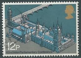 1975 GRAN BRETAGNA USATO UNIONE INTERPARLAMENTARE - RC5-5 - 1952-.... (Elisabetta II)