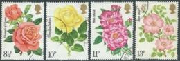 1976 GRAN BRETAGNA USATO ANNO DELLA ROSA - RC5-8 - 1952-.... (Elisabetta II)