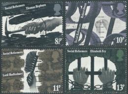 1976 GRAN BRETAGNA USATO RIFORMATORI SOCIALI - RC5-6 - 1952-.... (Elisabetta II)