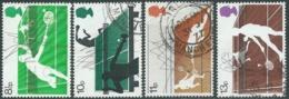 1977 GRAN BRETAGNA USATO SPORTS DELLA RACCHETTA - RC5-9 - 1952-.... (Elisabetta II)