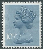 1978 GRAN BRETAGNA USATO EFFIGIE REGINA ELISABETTA II 10 1/2 P - RC2-10 - 1952-.... (Elisabetta II)