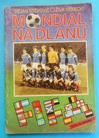 YUGOSLAVIA ON FIFA WORLD CUPS 1930-1990 ... Old Football Book * Soccer Fussball Calcio Foot Futbol Futebol Jugoslavia - Livres, BD, Revues