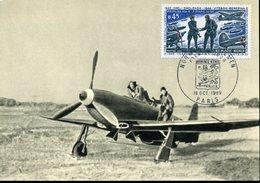 PARIS 18 Oct 1969 ESCADRILLE NORMANDIE - NIEMEN Aviation Guerre 40 Avion - 1960-1969