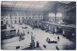 Tours - Intérieur De La Gare. Message, 1911 - Tours