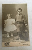 Renaix - Début 20ème Siècle - Photo Jansen Renaix - Portrait D'enfants - Personnes Anonymes