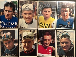 8 Cartes / Cards -  Cyclists - Cyclisme - Ciclismo -wielrennen - Wielrennen