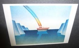 Carte Postale - Illustration Folon - Le Voyage - 1979 - Folon