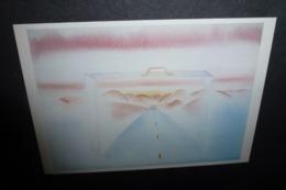 Carte Postale - Illustration Folon - On The Road - 1982 (valise) - Folon