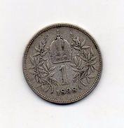 Austria - 1898 - 1 Corona - Francesco Giuseppe - Argento - (FDC6604) - Austria