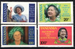 TANZANIA - 1985 - Queen Mother, 85th Birthday - MNH - Tanzania (1964-...)