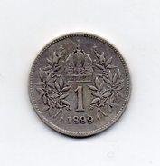 Austria - 1899 - 1 Corona - Francesco Giuseppe - Argento - (FDC6606) - Austria