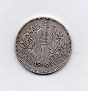 Austria - 1899 - 1 Corona - Francesco Giuseppe - Argento - (FDC6609) - Austria