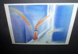 Carte Postale - Illustration Folon - Pensées - 1982 - Folon