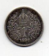 Austria - 1898 - 1 Corona - Francesco Giuseppe - Argento - Vedi Foto - (MW1014) - Austria