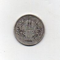 Austria - 1900 - 1 Corona - Francesco Giuseppe - Argento - (MW2694) - Austria