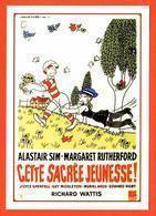 Carte Postale : Cette Sacrée Jeunesse ! (film - Cinéma - Affiche) Illustration : Jean Effel - Afiches En Tarjetas