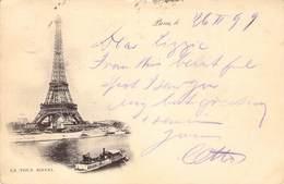 Tour Eiffel  26 Février 99  Pour L'Allemagne - Eiffeltoren