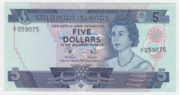 Solomon Islands 5 Dollars 1977 UNC NEUF Pick 6a - Solomon Islands