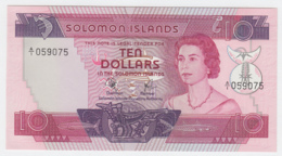Solomon Islands 10 Dollars 1977 UNC NEUF Pick 7a - Solomonen