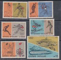 Grèce N° 1218 / 23 XX  Jeux Olympiques De Montréal. La Série Des 6 Valeurs Sans Charnière, TB - Grèce