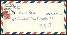 Japan Brief Von Kagoshima Nach Stalinstadt DDR 22.1.1962 - Lettres & Documents