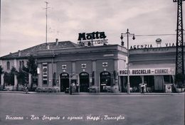 Italie, Piacenza, Bar Sorgente E Agenzia Viaggi, Bucaglia (141) 10x15 - Piacenza