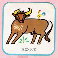 Sticker - Horoscoop - Stier - 21 IV -20 V - Stickers