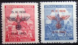 ALLEMAGNE Occupation En BOHEME-MORAVIE                N° 76 A/B                      NEUF** - Besetzungen 1938-45